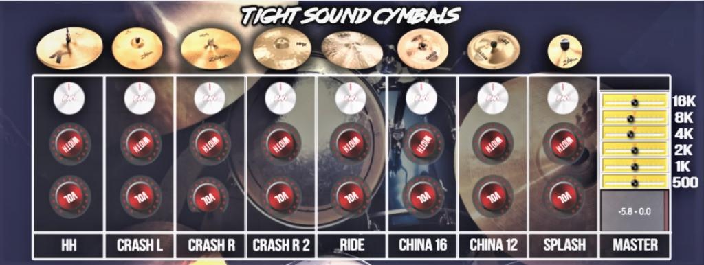 Mix-Ready Cymbals VST, AU Plugin · Sinewave Lab