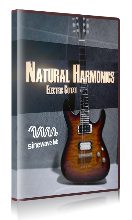 Electric Guitar Natural Harmonics (Kontakt Library)