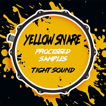 Yellow Snare Drum Kontakt Library