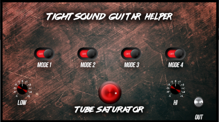 Metal Guitar Helper VST, AU Plugin