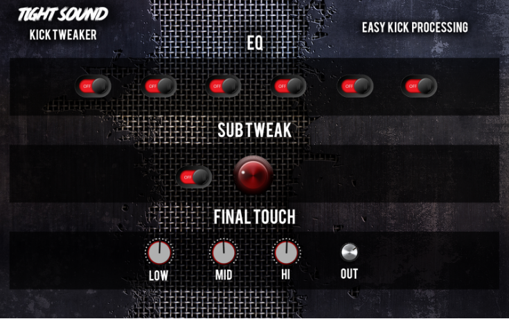 Metal Kick Drum Processing VST Plugin